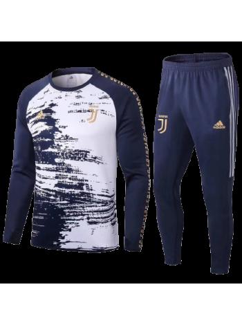 купить Тренировочный костюм Ювентус темно-синий 2020-2021