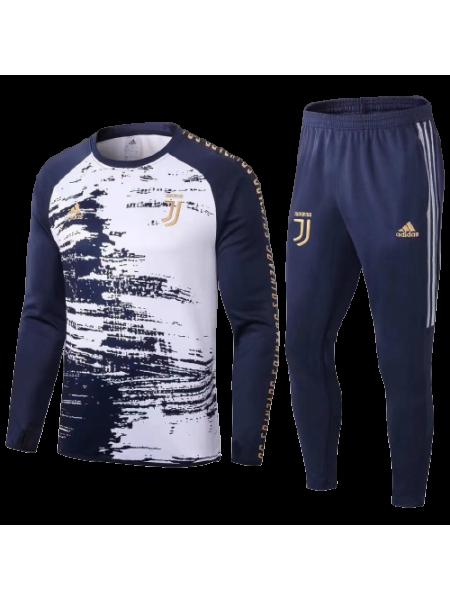Тренировочный костюм Ювентус темно-синий 2020-2021