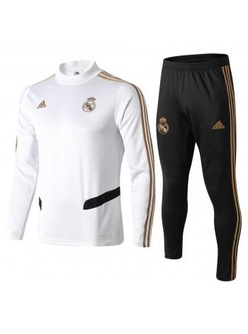 купить Тренировочный костюм Реал Мадрид белый 2020