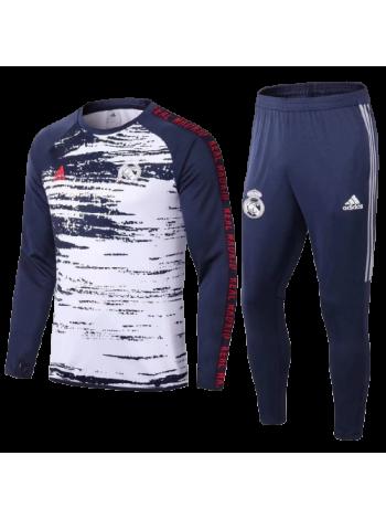 купить Тренировочный костюм Реал Мадрид темно-синий 2020-2021