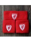 купить Комплект напульсники и повязка на голову Ливерпуль красный
