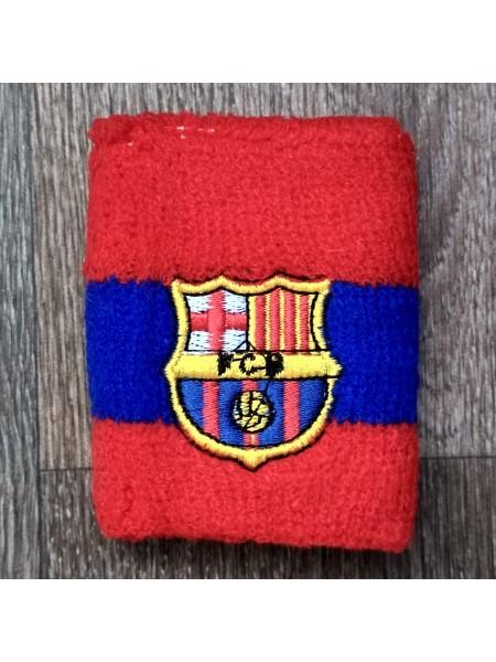 Напульсник Барселона красный