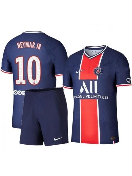 Детская футбольная форма ПСЖ/PSG NEYMAR JR 10 домашняя 2020-2021