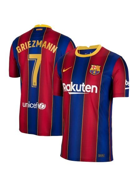 Детская футбольная форма Барселона GRIEZMANN 7 домашняя 2020-2021