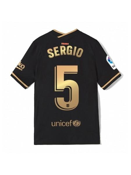 Детская футбольная форма Барселона SERGIO 5 выездная 2020-2021