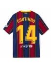 купить Детская футбольная форма Барселона COUTINHO 14 домашняя 2020-2021