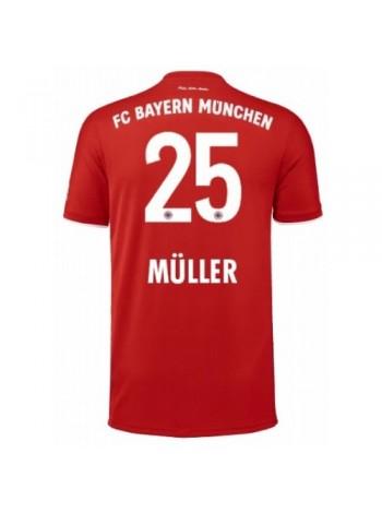купить Детская футбольная форма Бавария Мюнхен MULLER 25 домашняя 2020-2021