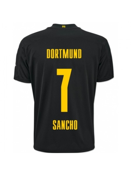 Детская футбольная форма Боруссия Дортмунд SANCHO 7 выездная 2020-2021