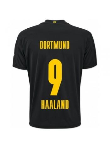 купить Детская футбольная форма Боруссия Дортмунд HAALAND 9 выездная 2020-2021