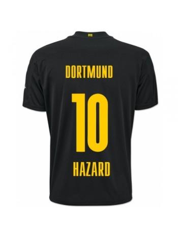 купить Детская футбольная форма Боруссия Дортмунд HAZARD 10 выездная 2020-2021