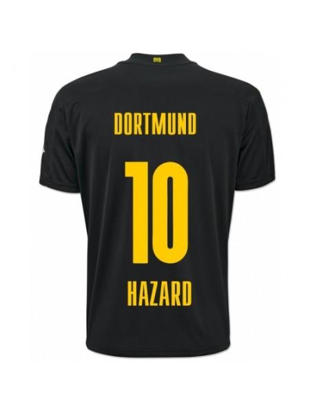 Детская футбольная форма Боруссия Дортмунд HAZARD 10 выездная 2020-2021