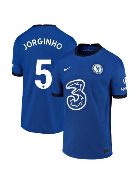 Детская футбольная форма Челси JORGINHO 5 домашняя 2020-2021