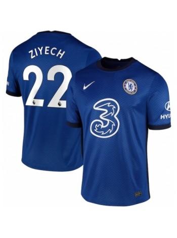 купить Детская футбольная форма Челси ZIYECH 22 домашняя 2020-2021