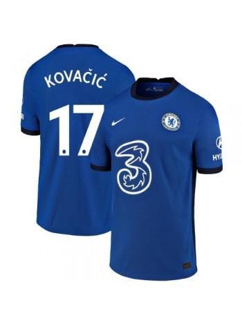купить Детская футбольная форма Челси KOVACIC 17 домашняя 2020-2021