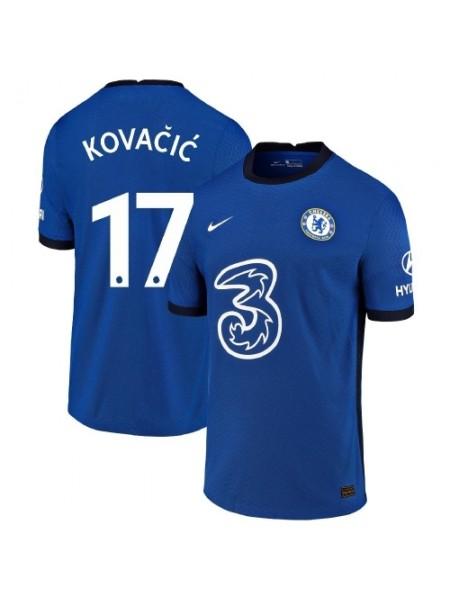 Детская футбольная форма Челси KOVACIC 17 домашняя 2020-2021