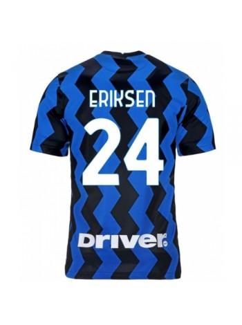 купить Детская футбольная форма Интер ERIKSEN 24 домашняя 2020-2021