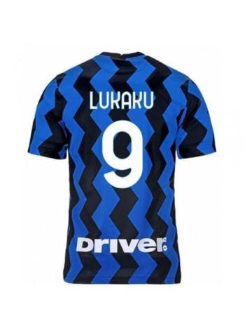 купить Детская футбольная форма Интер LUKAKU 9 домашняя 2020-2021