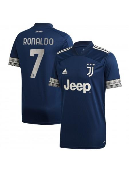 Детская футбольная форма Ювентус RONALDO 7 выездная 2020-2021