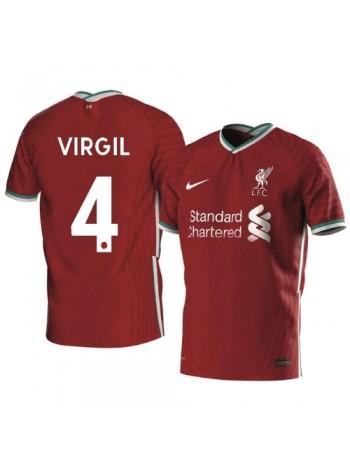 купить Детская футбольная форма Ливерпуль VIRGIL 4 домашняя 2020-2021