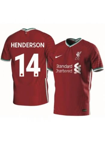 купить Детская футбольная форма Ливерпуль HENDERSON 14 домашняя 2020-2021