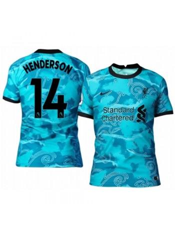 купить Детская футбольная форма Ливерпуль HENDERSON 14  выездная 2020-2021