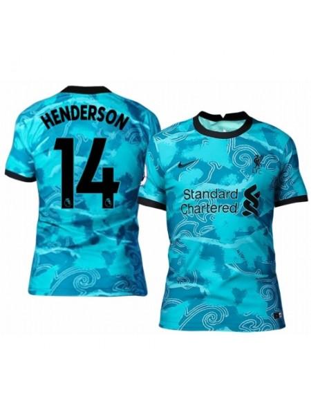 Детская футбольная форма Ливерпуль HENDERSON 14  выездная 2020-2021