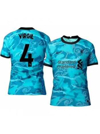 купить Детская футбольная форма Ливерпуль VIRGIL 4  выездная 2020-2021