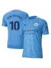 купить Детская футбольная форма  Манчестер Сити KUN AGUERO 10 домашняя 2020-2021