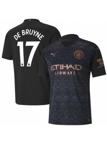 купить Детская футбольная форма Манчестер Сити DE BRUYNE 17 выездная 2020-2021