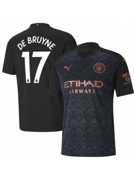 Детская футбольная форма Манчестер Сити DE BRUYNE 17 выездная 2020-2021