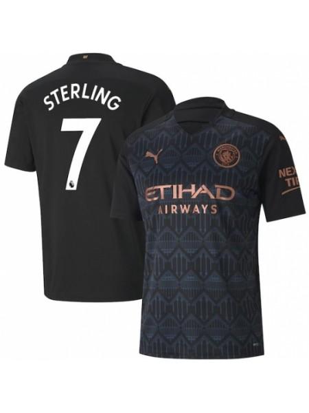 Детская футбольная форма Манчестер Сити STERLING 7 выездная 2020-2021