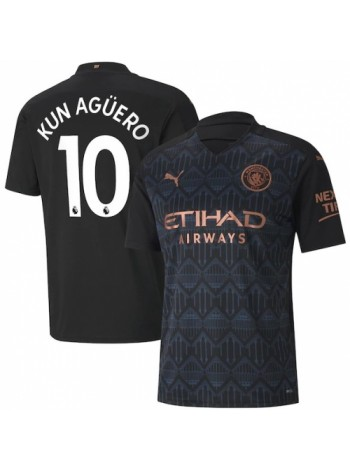 купить Детская футбольная форма Манчестер Сити KUN AGUERO 10 выездная 2020-2021
