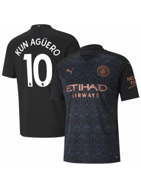 Детская футбольная форма Манчестер Сити KUN AGUERO 10 выездная 2020-2021