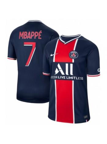 купить Детская футбольная форма ПСЖ MBAPPE 7 домашняя 2020-2021