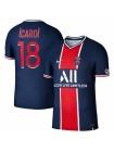 купить Детская футбольная форма ПСЖ  ICARDI 18 домашняя 2020-2021
