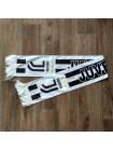купить Футбольный шарф фанатский Ювентус белый