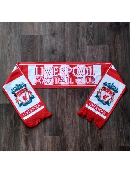 Футбольный шарф фанатский Ливерпуль красный