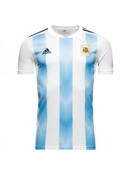 Футбольная форма национальной сборной Аргентина домашняя 2018