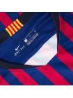 купить Детская футбольная форма Барселона домашняя 2018-2019 длинный рукав