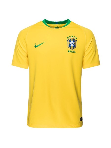 Детская футбольная форма национальной сборной Бразилия домашняя 2018