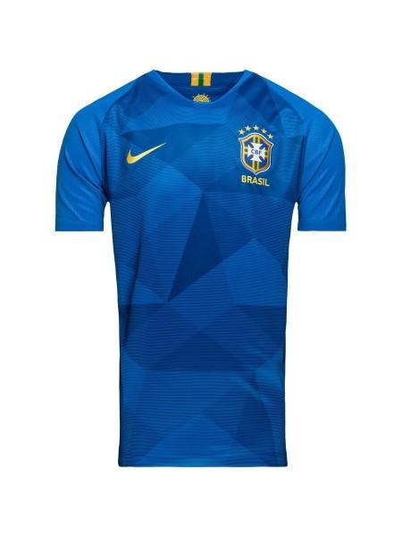 Футбольная форма национальной сборной Бразилия выездная 2018