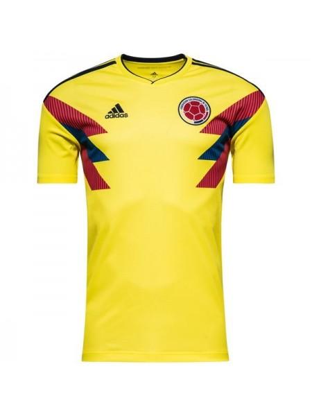Футбольная форма национальной сборной Колумбия домашняя 2018