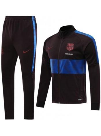 купить Детский спортивный костюм Барселона коричневый 2019-2020