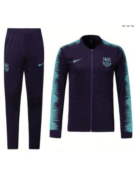 Детский спортивный костюм Барселона фиолетовый 2019-2020