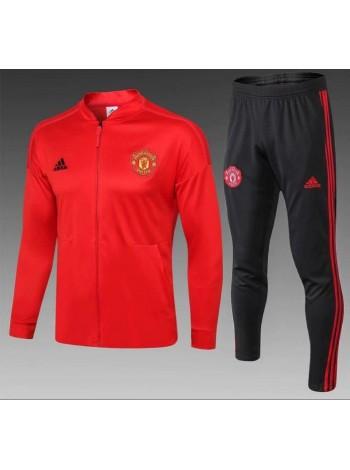 купить Детский спортивный костюм Манчестер Юнайтед красный 2019-2020