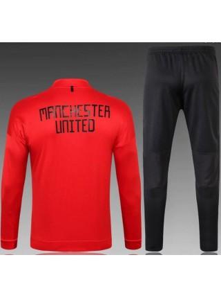 Детский спортивный костюм Манчестер Юнайтед красный 2019-2020