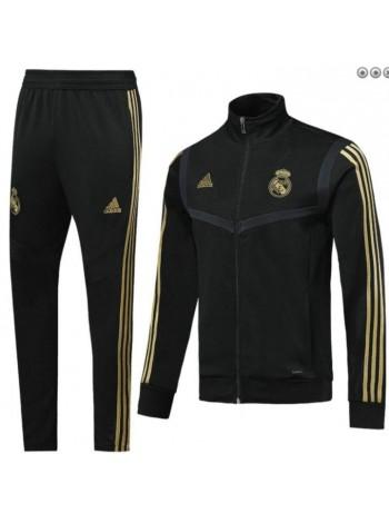 купить Детский спортивный костюм Реал Мадрид черный 2019-2020