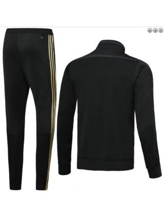 Детский спортивный костюм Реал Мадрид черный 2019-2020