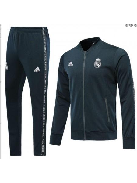 Спортивный костюм Реал Мадрид серый 2019-2020