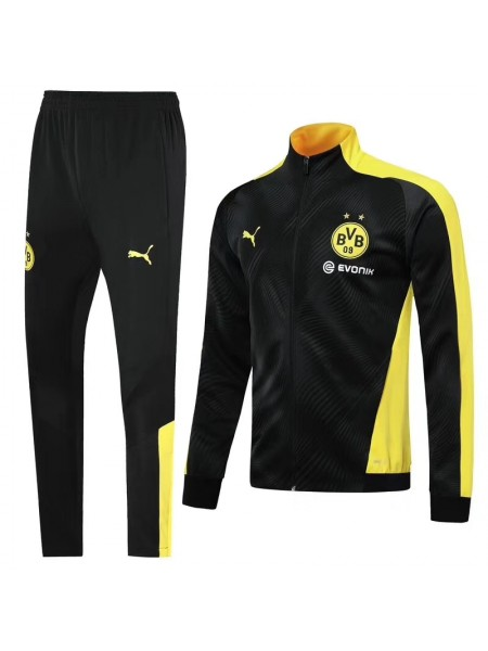 Спортивный костюм Боруссия Дортмунд черный 2019-2020